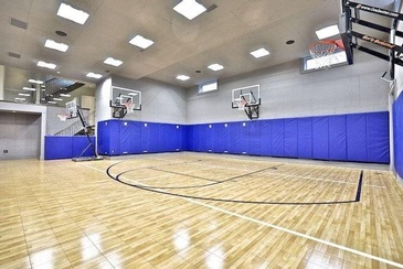 Indoor Basketball Court by Sunrise Constrade Corp. - Civil Engineering Construction Company North York