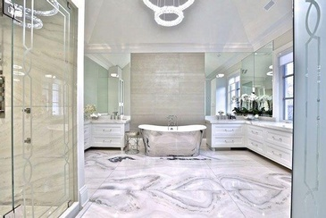 Bathroom Design by Sunrise Constrade Corp. - Custom Home Builders Niagara Falls