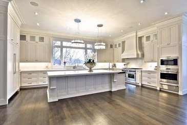 Kitchen Designs by Sunrise Constrade Corp. - Civil Engineering Construction Company North York