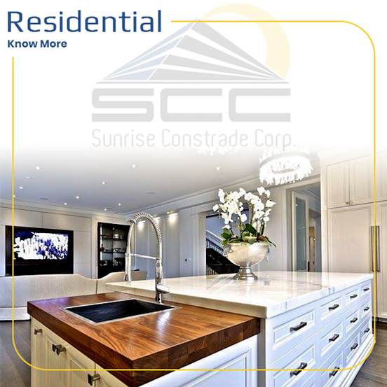 Residential Construction by Sunrise Constrade Corp. - Civil Engineering Company GTA